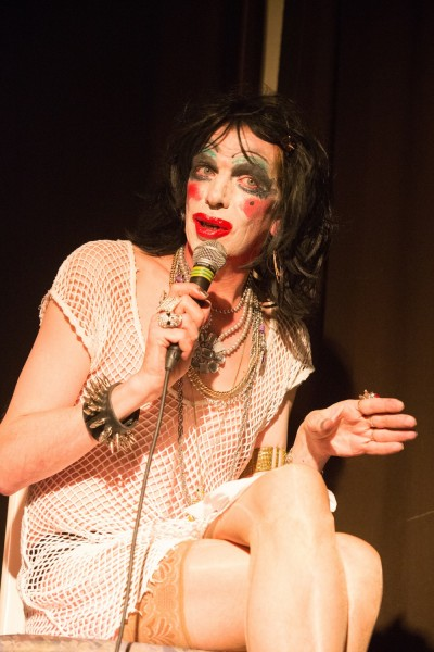 David Hoyle, image by Nada Zgank