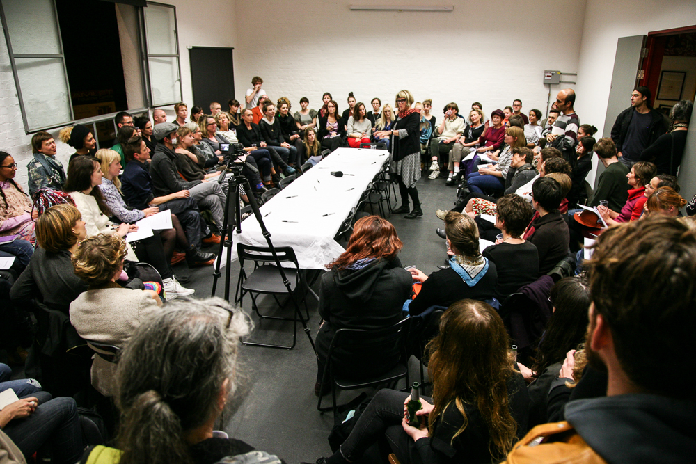 Long Table on Live Art and Feminism, 2013